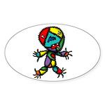kuuma kimokawa 1 Sticker (Oval)