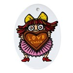 kuuma love 1 Ornament (Oval)