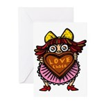 kuuma love 1 Greeting Cards (Pk of 10)