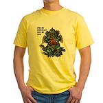 GIVE ME CHOCOLATE Yellow T-Shirt