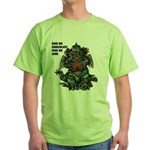 GIVE ME CHOCOLATE Green T-Shirt