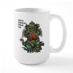GIVE ME CHOCOLATE Large Mug