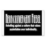 Neurodivergent Rebel Stickers (10 Pk)