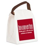 Neurodivergent Rebel Tote Canvas Lunch Bag