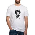 cacats buneko 2 Fitted T-Shirt