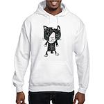 cacats buneko 2 Hooded Sweatshirt