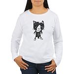 cacats buneko 2 Women's Long Sleeve T-Shirt