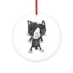 cacats buneko 2 Ornament (Round)