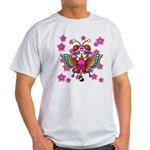 cacats cherry blossoms Light T-Shirt