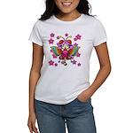 cacats cherry blossoms Women's T-Shirt