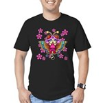 cacats cherry blossoms Men's Fitted T-Shirt (dark)