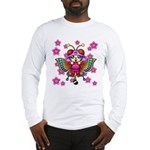 cacats cherry blossoms Long Sleeve T-Shirt