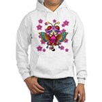 cacats cherry blossoms Hooded Sweatshirt