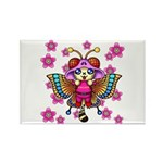 cacats cherry blossoms Rectangle Magnet