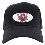cacats cherry blossoms Black Cap
