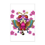 cacats cherry blossoms Mini Poster Print