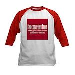 Neurodivergent Rebel Kid Baseball Jersey - 3 Color