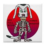 dogman Tile Coaster