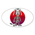 dogman Sticker (Oval 50 pk)