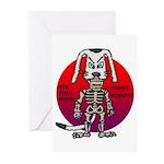 dogman Greeting Cards (Pk of 20)