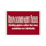 Neurodivergent Rebel Magnets (10 Pk)