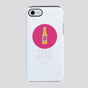 Team bride Zurich 2017 Henpart iPhone 7 Tough Case