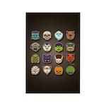 Monster Mash 02 Rectangle Magnet (100 pack)