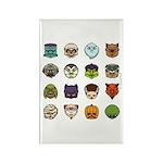 Monster Mash 02 Rectangle Magnet (10 pack)