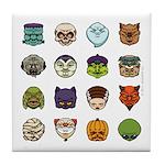 Monster Mash 02 Tile Coaster