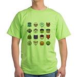 Monster Mash 02 Green T-Shirt