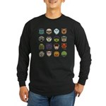 Monster Mash 02 Long Sleeve Dark T-Shirt