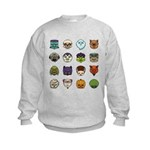 Monster Mash 02 Kids Sweatshirt
