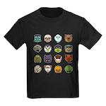 Monster Mash 02 Kids Dark T-Shirt