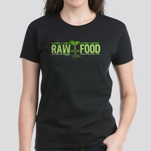 RawFood_design_dark_bgd copy T-Shirt