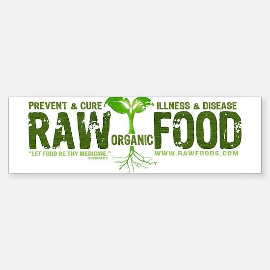 Cute Raw food Sticker (Bumper)