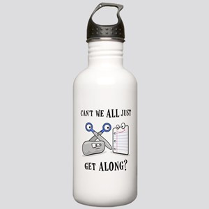 """Rock-Paper-Scissors"" Stainless Water Bottle 1.0L"