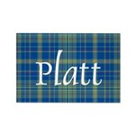 Tartan - Platt Rectangle Magnet (10 pack)