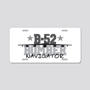 B-52 Aviation Navigator Aluminum License Plate