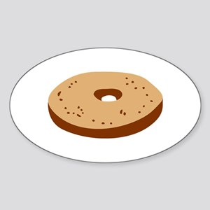 Bagel Sticker (Oval)