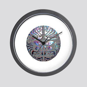 Te Ao Wall Clock