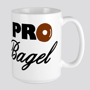 Pro Bagel Large Mug