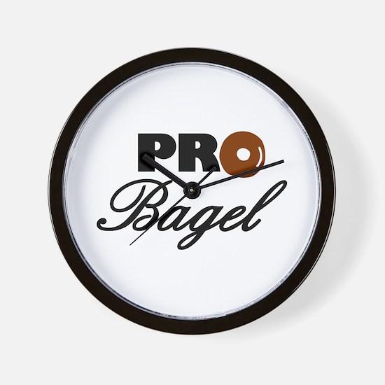 Pro Bagel Wall Clock