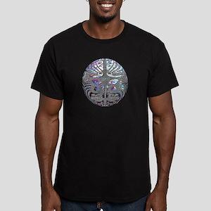 Te Ao Men's Fitted T-Shirt (dark)