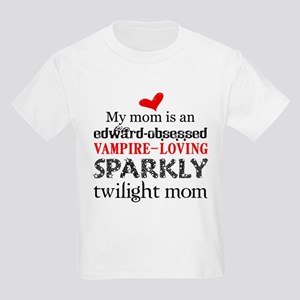 My Mom is Sparkly Kids Light T-Shirt