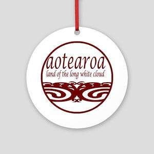 Aotearoa Ornament (Round)