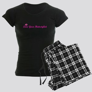 Love Your Hairstylist Women's Dark Pajamas