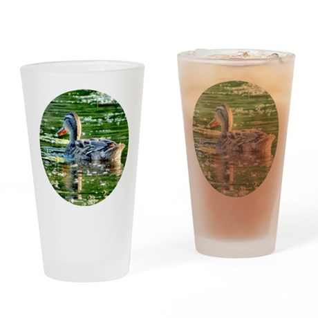 Mallard Duck - Drinking Glass