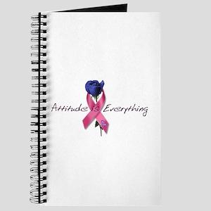 Pink Ribbon - Attitude Journal