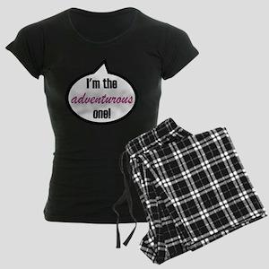 I'm the adventurous one! Women's Dark Pajamas