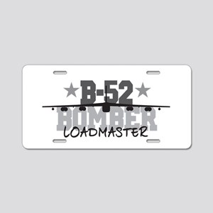 B-52 Aviation Loadmaster Aluminum License Plate
